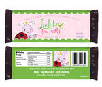 6 LADYBUG TEA Birthday Party CANDY WRAPPER