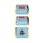 30 Backyard BBQ Barbecue Birthday Personalized NUGGET LABELS