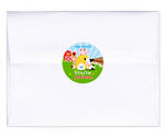 24 BARNYARD FARM Birthday Envelope SEALS
