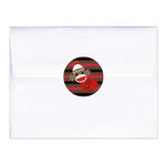 24 SOCK MONKEY 1st First Birthday (all ages) or Baby Shower Personalized ENVELOPE SEALS