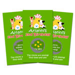 10 BARNYARD FARM Birthday Favor SCRATCH OFF GAMES