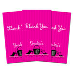 10 HEELS AND PURSES Birthday Party THANK YOU TAGS